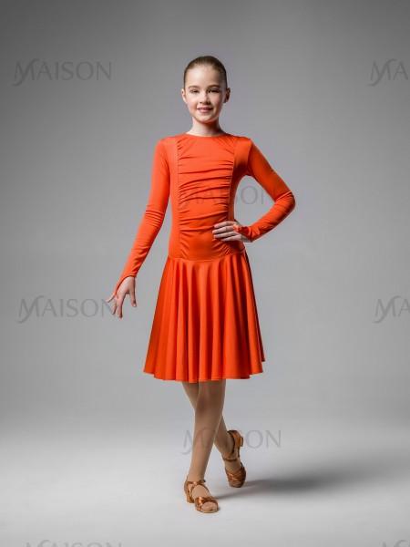 Платье рейтинговое, длинный рукав на пальчик